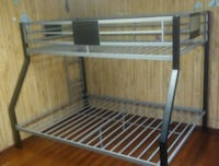 Steal silver bunk bed frame Fitchburg, 01420