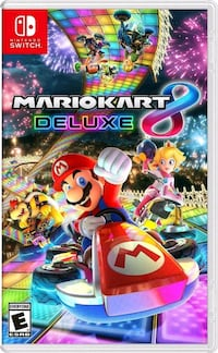 Mario Kart 8 Deluxe - Nintendo Switch St. Catharines, L2M