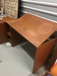 Wooden drawing desk