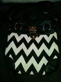 Black n white Claire's over the shoulder purse Lincoln, 68502