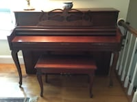 Wurlitzer Upright Piano Arnold