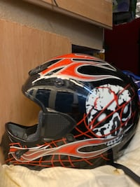 Bicycle helmet bmx
