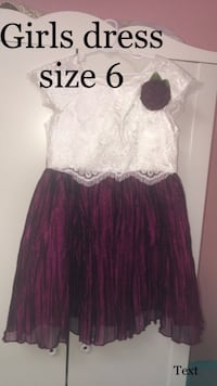 Girls dress size 6  Concord, 94519