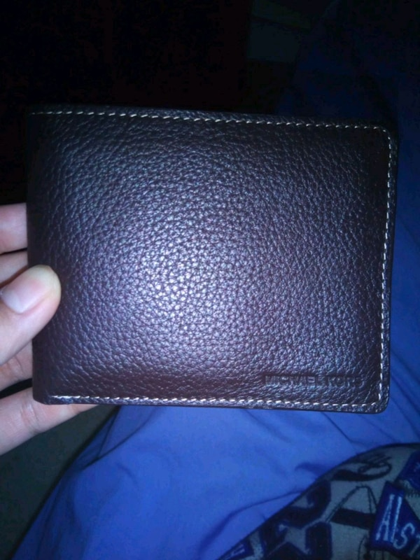 Premium leather wallet from Michael Kors