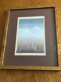 Scenic Picture in Glass Frame Calgary, T2Y 2Z8