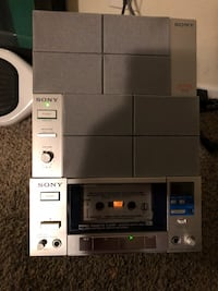 Sony tc-pb5 cassette player and sa55 speakers Thousand Oaks, 91360