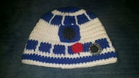 white and blue Star Wars. Crochet