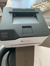 Lexmark printer functional used