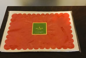 Kate Spade Scallop Placemats and Napkins