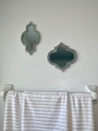 Two silver wall mirror decor Kissimmee, 34744