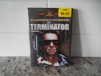 *New in Package* Terminator DVD $1 PU Morinville  Morinville
