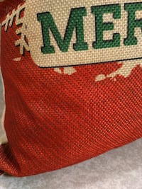 "Brand New ""merry christmas"" doe pillow Rocky Point"
