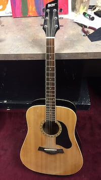 brown and black acoustic guitar Ritchot, R5A