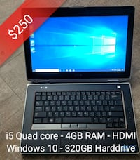 Dell E6420 Laptop (Great for school/work) Toronto, M4J 2A1