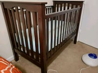 baby's brown wooden crib Washington, 20020