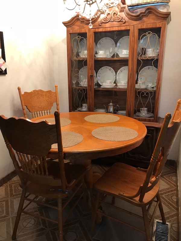 Used Wooden Dining Room Set For Sale In Toronto