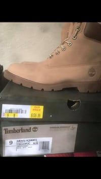 unpaired brown Timberland work boot with box Widefield, 80911