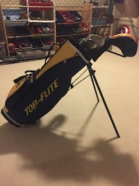 """Top Flite XLj golf set (youth 46""""-52"""" height) $40 Excellent Condition"""
