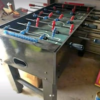 black and gray foosball table Beaumont, 77705