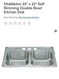 Kohler Kitchen Sink Welland, L3B 2K3