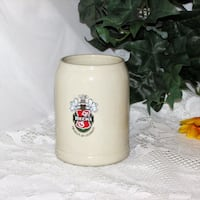 Beck's Beer Mug Stoneware Stein Germany .5L Mississauga