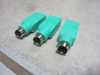 3 USB mouse cord adapters Desert Hot Springs