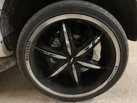 For sale rims with tires Toronto, M1V