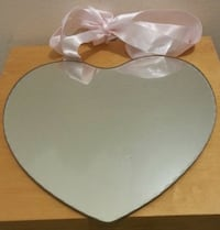 Heart Shaped Wall Mounted Mirror