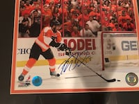 Mike Richards autographed photo in custom Flyers frame Mountville, 17554