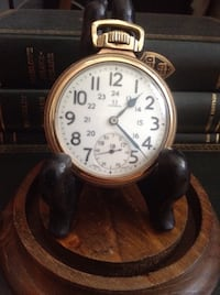 Early OMEGA railroad high grade pocket watch . works perfectly , super accurate Toronto, M1S