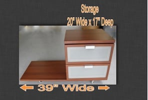 Modern Stand With Drawers