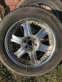 Set of wheels and tires  Lonoke, 72086