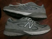 pair of gray-and-white New Balance sneakers Washington, 20011