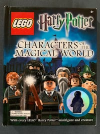Lego Harry Potter Characters of the Magical World Book Glendale
