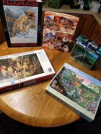 Puzzle bundle 5 for 20 or $5 each