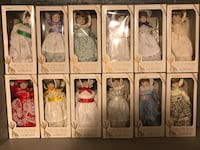 Gorham collectors edition dolls of the month