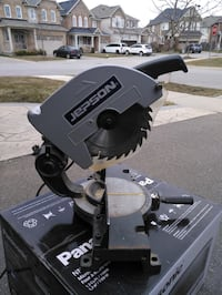 10 inch Gipson miter saw heavy duty with steel base