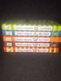 Diary of A Wimpy Kid Books Toronto