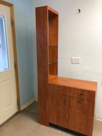 brown wooden cabinet with mirror Frankenmuth, 48734