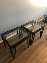 2 glass tables Owings Mills, 21117