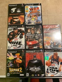 Sony PlayStation 2 with 8 games East Brunswick, 08816