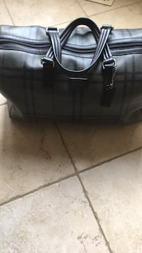 black leather 2-way handbag Vaughan, L6A 0E9