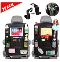 Brand new Car Back Seat Organizer for Kids (2pack )