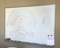 Large 4' x 6' magnetic whiteboard San Clemente, 92673