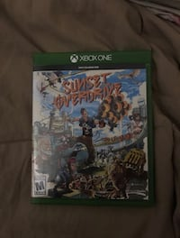 Xbox One Sunset Overdrive game case