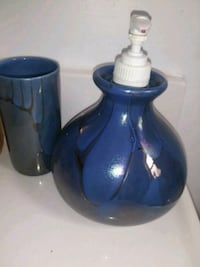 two blue ceramic pitcher and pitcher Jacksonville, 32207
