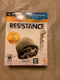 Resistance Trilogy Collectors Edition PS3 Pleasanton, 94566