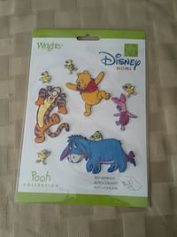 Winnie the Pooh embroidered patches  North Oaks, 55127