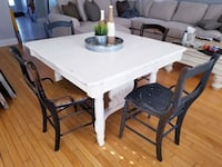 Antique table and chairs  Bowmanville, L1C