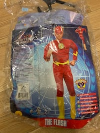 "Men's Large ""The Flash"" Muscle Chest Costume 